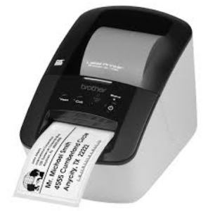 QL-500 front view printing label