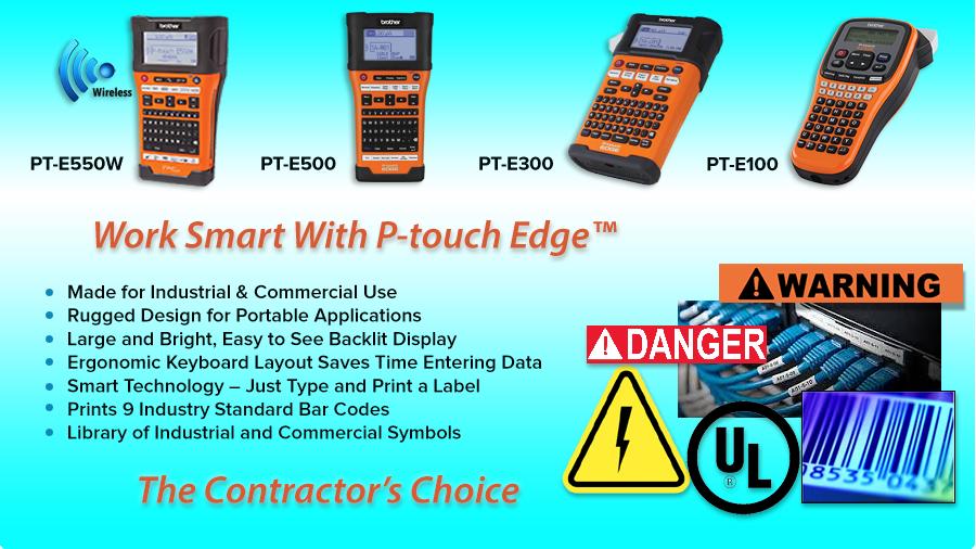 Desktop P-touch Labeling